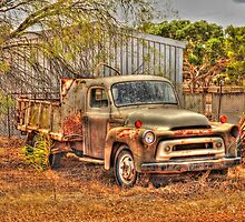 Retired Truck by Julie Teague