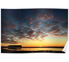 Stanley Nut sunrise , nor west Tasmania , Australia Poster