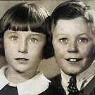 Brother & Sister -1935 circa by EdsMum
