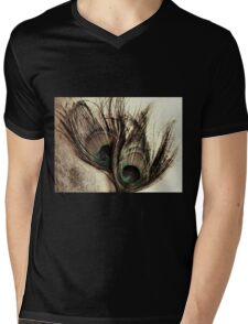 Feathers Mens V-Neck T-Shirt