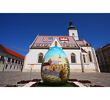 Easter in Zagreb Photographic Print