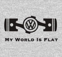 VW My World is Flat by upick