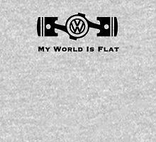 VW My World is Flat Unisex T-Shirt