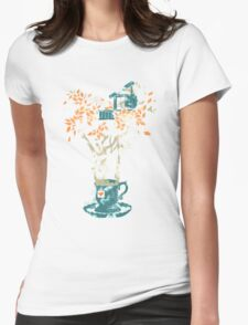 Tea House Womens Fitted T-Shirt