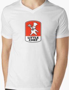 Little Chef (Retro Logo) Mens V-Neck T-Shirt