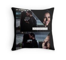 Delena Rain Kiss Throw Pillow