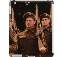 World War Two Parade Day iPad Case/Skin