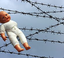 Baby doll and barbwire by muharremz