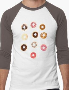 Donuts For Days Men's Baseball ¾ T-Shirt