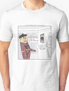 The Flintstones + 2001: A Space Odyssey  T-Shirt