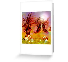 Carpet of thieves. Greeting Card