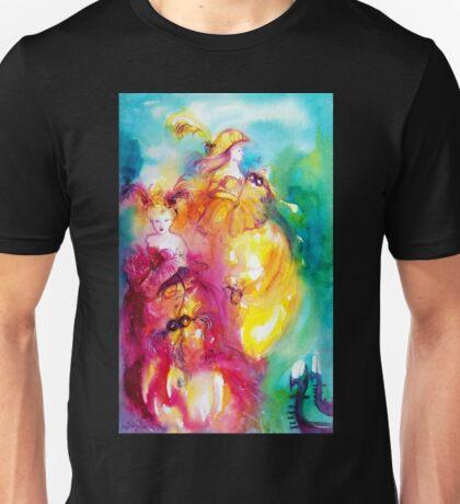RONDO IN LAGOON / Venetian Masquerade Unisex T-Shirt