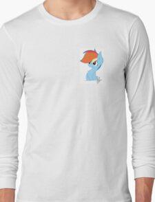 Rainbow Dash Cute Long Sleeve T-Shirt