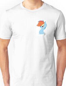 Rainbow Dash Cute Unisex T-Shirt