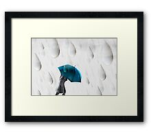 Homage to Rene Magritte 2 Framed Print