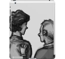 Together (close up) iPad Case/Skin