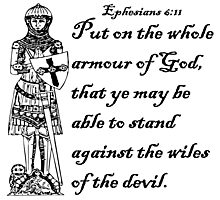 EPHESIANS 6:11  ARMOUR OF GOD Photographic Print