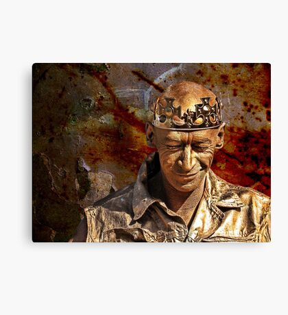 golden man Canvas Print