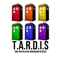 T.A.R.D.I.S Rainbow by thecumberlord