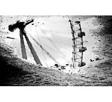 London Eye reflected Photographic Print