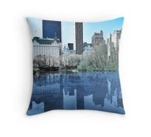 Central Park1 Throw Pillow