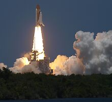 Space Shuttle Atlantis lifts off on STS-132 by chibiphoto