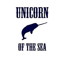 Narwhals: Unicorn of the Sea Photographic Print