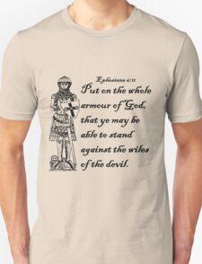 EPHESIANS 6:11  ARMOUR OF GOD T-Shirt