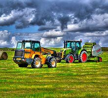 A Game of Tractor Chicken by Ryan Davison Crisp