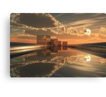 Q-City-Five Canvas Print