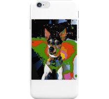 Rat terrier delight iPhone Case/Skin