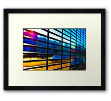 Grid 5 Framed Print
