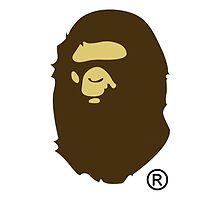 A Bathing Ape Logo  by EthanTrilll