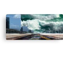 Q-City-Seven Canvas Print