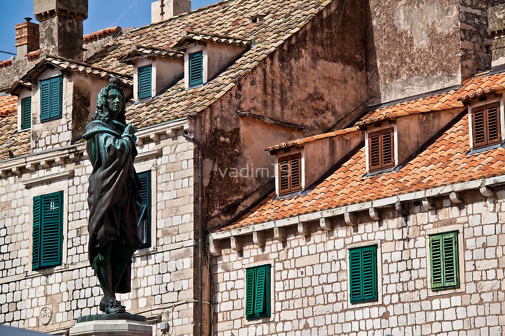 Roofs and Windows. Dubrovnik. by vadim19