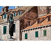 Roofs and Windows. Dubrovnik. Photographic Print