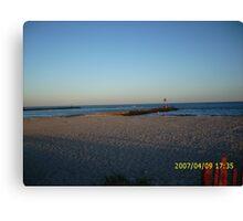 Hampton Bays Inlet-Dune Road Canvas Print