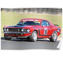 Boss 302 - Mustang Poster