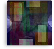 i am abstracted in smoke  Canvas Print