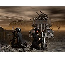 Psychic Wars Recon Scouts Photographic Print
