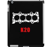 K20 Engine Block iPad Case/Skin