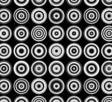 Concentric Spots by Artberry