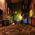 Sniders Lane - Melbourne by Jon Staniland