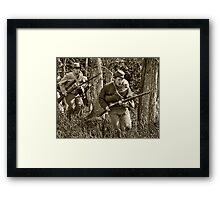 Rebel Yell Framed Print