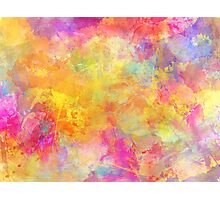 Joy abstraction painting Photographic Print