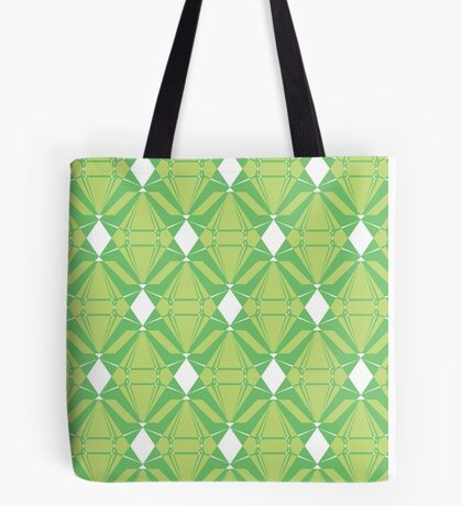 Abstract Emeralds [GREEN] Tote Bag