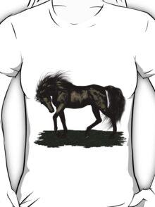 Ebony .. black stallion T-Shirt