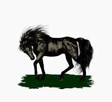 Ebony .. black stallion Womens Fitted T-Shirt