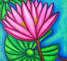 Pink Gem 1 by LisaLorenz