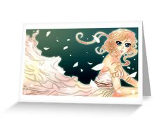 Greek Godess Greeting Card